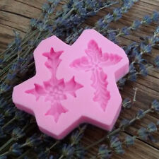 Lovely Silicone Cross Style Chocolate Sugar Chic Cake Decor Fondant Mould WWS