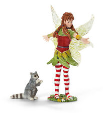 Schleich 70453 Dancing Marween with Raccoon Bayala Elf Toy Model Retired - NIP