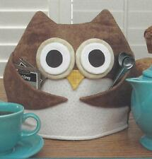 Tea for Who Owl Tea Cozy quilt pattern by Susie C. Shore Designs
