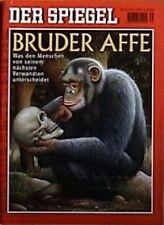 SPIEGEL 35/2000 Der Affe als nächster Verwandter des Menschen