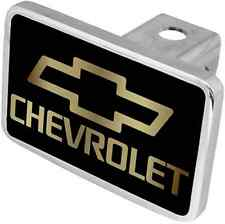 New Chevrolet Gold Word/Gold Logo Tow Hitch Cover Plug