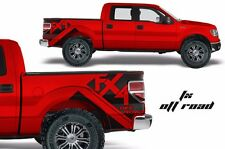 Custom Vinyl Decal FX4 Off Road Wrap Kit for Ford Truck F-150 09-14 Matte Black