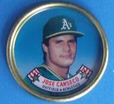 Topps Baseball Coins 1988 - Jose Canseco #7 - Oakland Athletics A's