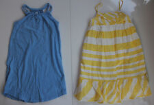 Lot of 2 Toddler Girl Size 5T Old Navy Dresses Sundresses Stripes