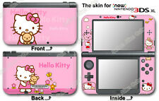 Hello Kitty Pink Cute Skin Vinyl Sticker Cover Decal for NEW Nintendo 3DS XL