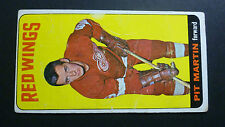 PIT MARTIN DETROIT RED WINGS HOCKEY RC CARD KARD CARTE TOPPS 1964 65 TALL BOYS