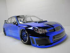 Custom 1/10 Scale NITRO GAS Remote Control Onroad Drift Car Subaru Imprez WRX
