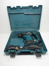 """Makita 1-1/8"""" Rotary Hammer HR2811F Green Power Tool In Case - Tested/Working"""