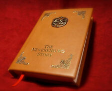 The Neverending Story Leatherbound Book - Handmade Leather Replica For Sale