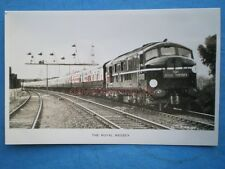 POSTCARD RP THE ROYAL WESSEX HAULED BY LOCO NO 10000 NR EASTLEIGH