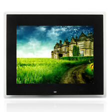 "15"" 16:9 HD TFT-LCD Screen Digital Photo Frame MP3 Black + 8GB TF Card"