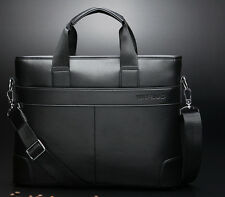 019 Men work Laptop real Leather Shoulder Messenger handBag travel business bag