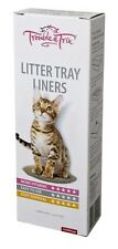 Cat litter tray pan box Liner - Large liners - 1 pack of 15 Liners