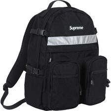 Supreme backpack, black with reflective strip