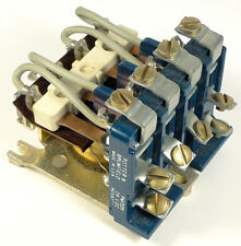 RELAY POWER 4P2T 25-AMP 240-VAC - COIL 24 VDC - P&B PM15DY-24 - *UNUSED* *NOS*