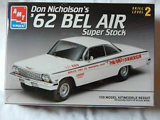 AMT Don Nicholson's '62 Bel Air Super Stock Kit 1/25 scale