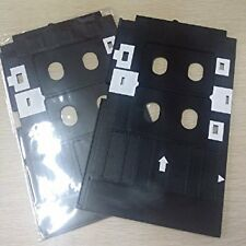 2 PCS PVC ID Card Tray for Epson L800, L805, L810 & L850 Printer + 10 CARD FREE