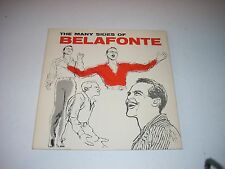 The Many Sides of Belafonte RCA LP Shaded Dog SP-33-92 VG+ PROMO