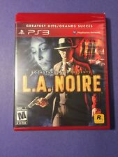 L.A. Noire for PS3 NEW