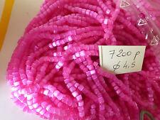 lot + de 7200 perle de rocaille rose fuchsia  passementerie luminaire déco 18 €