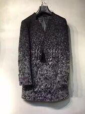 Saint Laurent Paris Two-color Long Wool Coat   Size M