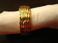 ausgefallener Freundschaftsring schöne Trauringe Korb Geflecht Muster 585er Gold