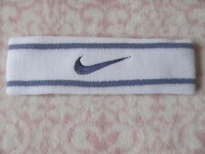 "Nike Premier Headband OSFM Unisex 2"" Headband White/Iron Purple - New"