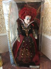 Red Queen Of Hearts Alice Looking Glass Film Collection Disney Store Doll Barbie