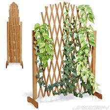Treillage plante grimapante écran de jardin clôture treillis extensible en bois