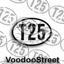 VW T25 STICKER OLD SCHOOL VINTAGE SURF STICKER - NICE! 95mm