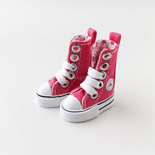 Neo Blythe Pullip Azone Doll Canvas Sneakers Micro Shoes - Pink