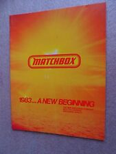 1983 MATCHBOX DEALER CATALOG, ORIGINAL