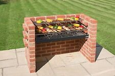 BLACK Knight Extra Large in mattoni kit BARBECUE 112 x 39 (5 Mattone Wide) bkb881 Nero