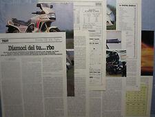 MOTOSPRINT982-PROVA / TEST-1982- HONDA CX 500 TURBO - 7 fogli