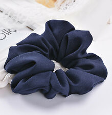WOW Lady Hair Scrunchies Ring Elastic Pure Color Bobble Sports Dance Scrunchie