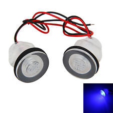 2x Boat Marine RV Waterproof Courtesy Livewell 12v LED BLUE LIGHT Submersible