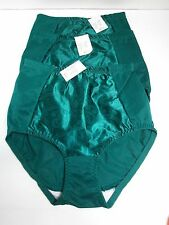 TARA Support Control Brief Body Shaper Green Size 29/30 LARGE - LOT OF 3 NWT