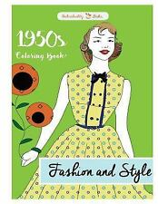 1950s Coloring Book: Fashion and Style by Individuality Individuality Books...