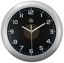 "65905 Equity by La Crosse EcoTech 12"" Solar Hybrid Analog Wall Clock"