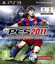 Pro Evolution Soccer 2011 PlayStation 3 PS3 Brand New