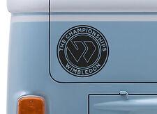 Wimbledon #2 Vinilo calcomanía adhesivo con el logotipo de tenis Insignia del coche camioneta elige color