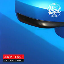 Brushed Satin Blue Chrome Sticky Vinyl Fablon - Air Release - 1.5m wide roll