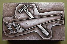 """CARPENTERS TOOLS"" PRINTING BLOCK."