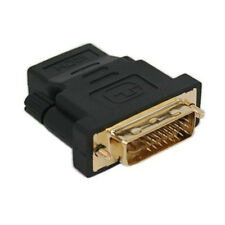 Gold Plated Male DVI-I to Female HDMI Cable Adapter DVI-I (24+5) to Type A Cable