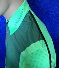 2014 Nike Tiger Woods Golf Polo Shirt *Perforated* $95 NWT 542068-422 Size Large