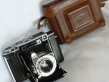 VINTAGE ZEISS IKON SUPER IKONTA (530/16) RANGEFINDER CAMERA WITH CASE