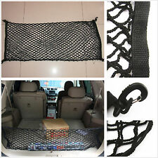 Car Rear Trunk Fixed Sundries Cargo Envelope Style Double Layer Elastic Net Bag