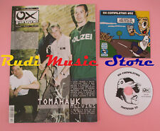 OX-FANZINE Magazine 52/2003 + CD Compilation Tomahawk bad Birds Nikki Sdden Guz