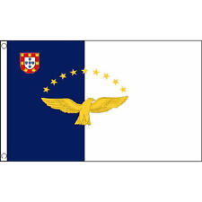 Azores Flag 5Ft X 3Ft Portugal Portuguese Region Banner With 2 Eyelets New