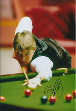Stephen HENDRY SIGNED Autograph 12x8 Photo AFTAL COA Grand Prix SNOOKER Champion